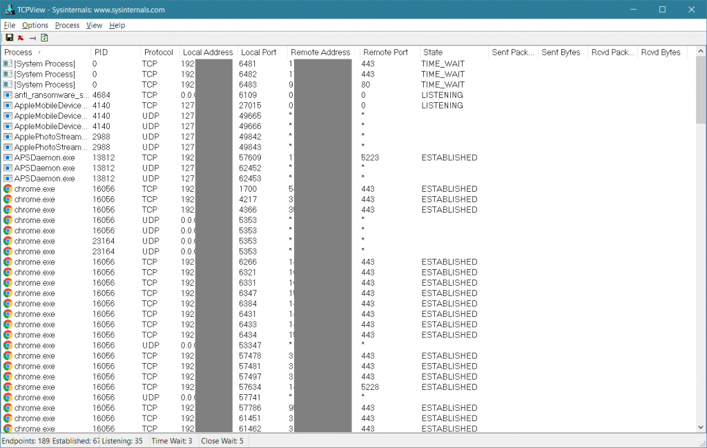 TCPView