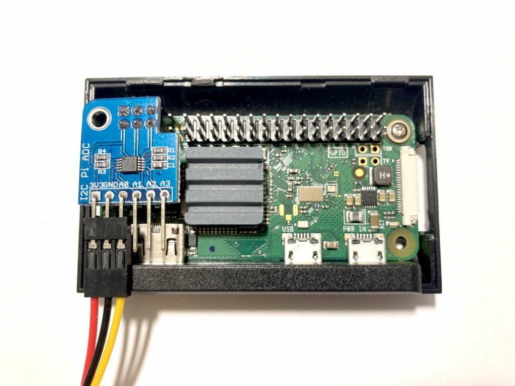 Raspberry Pi Zero W with ADS1115